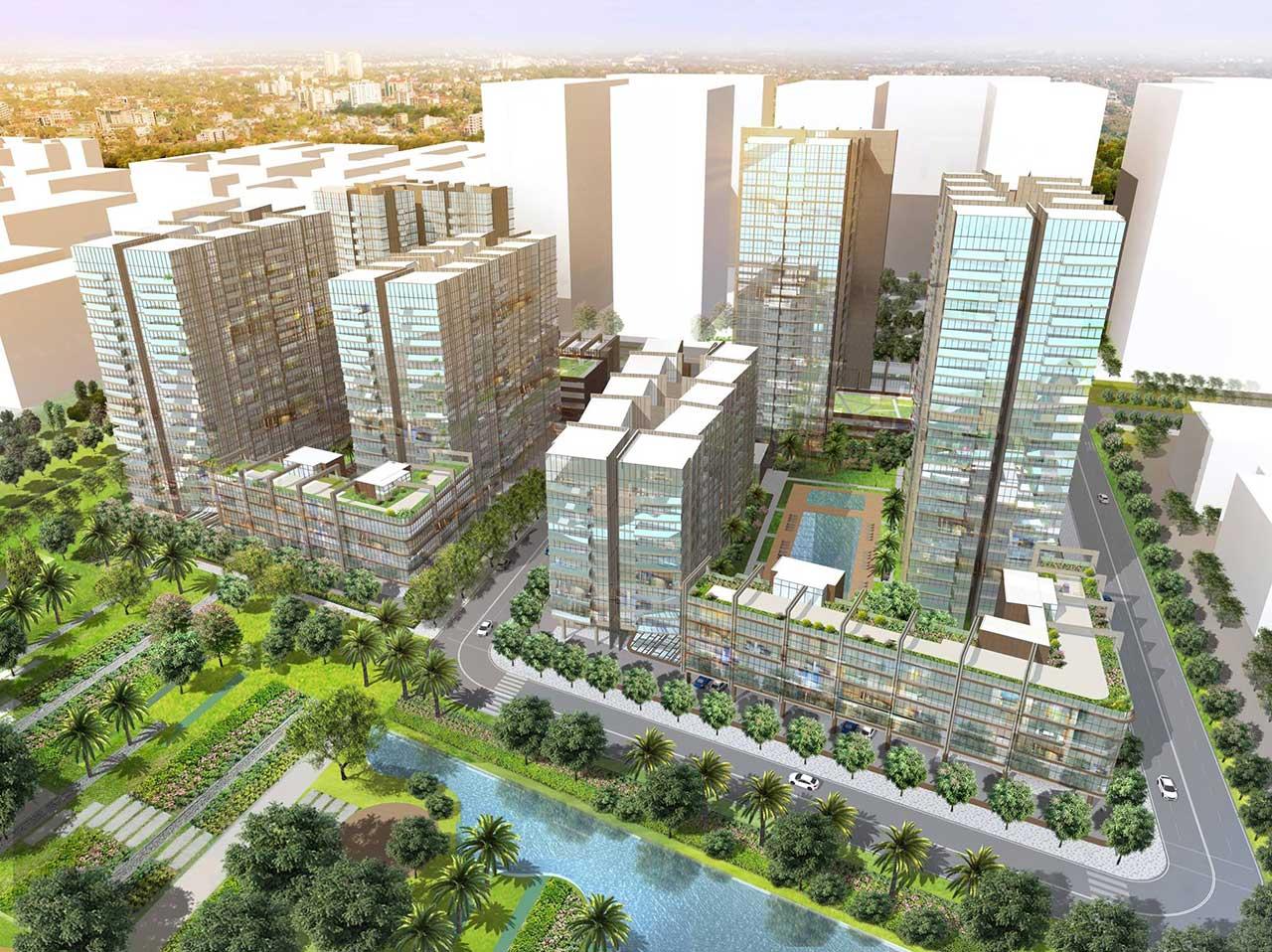 Hình 3D dự án Thủ Thiêm River Park