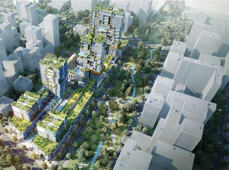 Hình ảnh về dự án Xi Thủ Thiêm