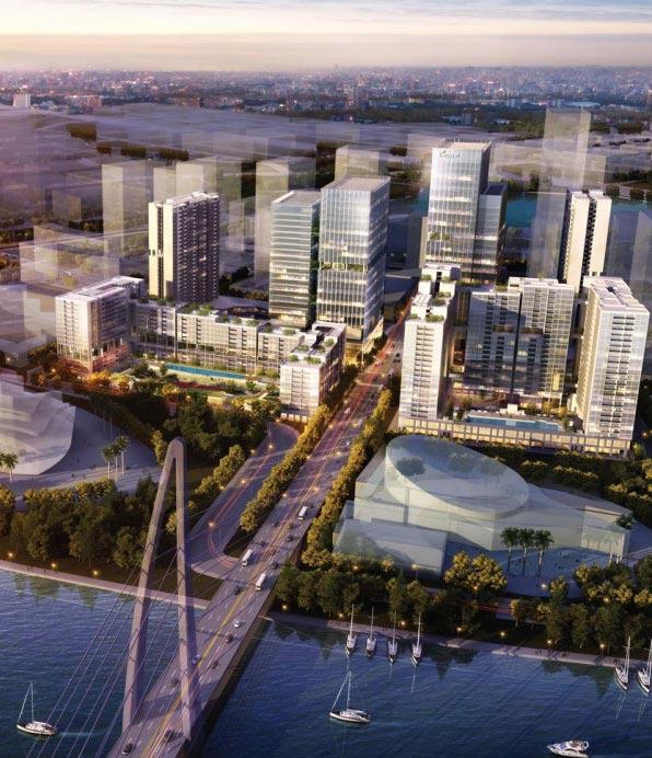 Phối cảnh dự án The Metropole Thủ Thiêm