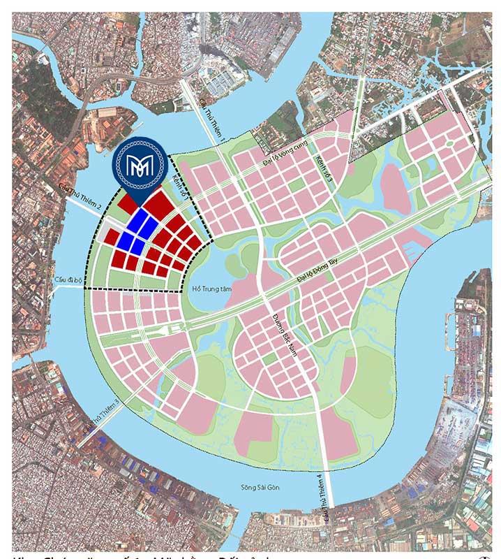Vị trí dự án Metropole Thủ Thiêm ở đâu?