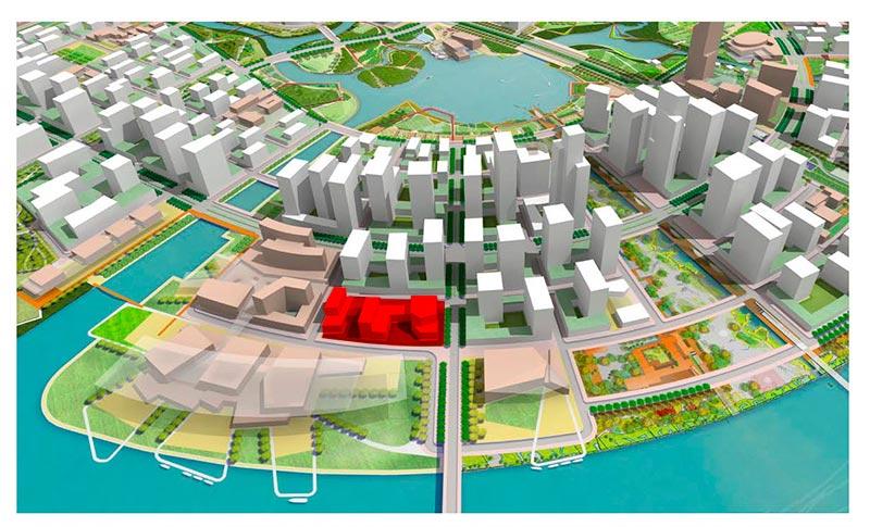 Bản đồ Shophouse Metropolis Thủ Thiêm